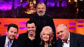Mark Wahlberg and Seth MacFarlane sing Thunder Buddies - The Graham Norton Show: Episode 10 - BBC