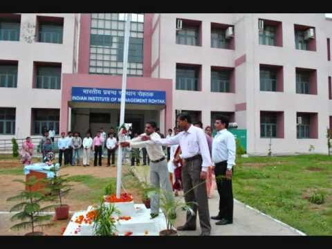 Independence Day celebrations at IIM Rohtak