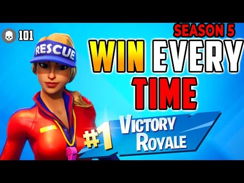 How To Win Every Time (15K) Season 5 Fortnite Battle Royale Tips - (Xbox, PS4,PC,Mobile,Android)
