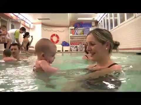 Bebés al agua, un libro para aprender a nadar