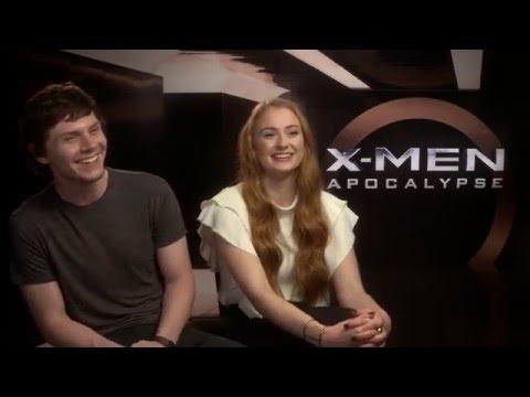 Evan & Sophie från X-Men om varför de går på bio.