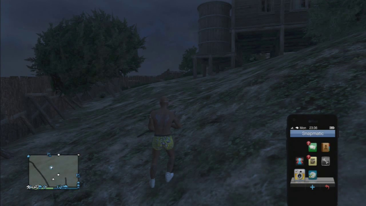 5 gta naked village
