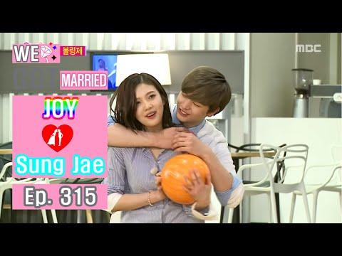 [We got Married4] 우리 결혼했어요 - Sung Jae's Heart attack Back hug 20160402