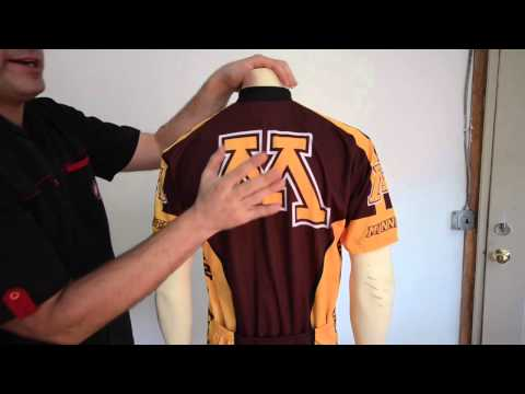 Minnesota Golden Gophers Cycling Jersey by Adrenaline Promotions