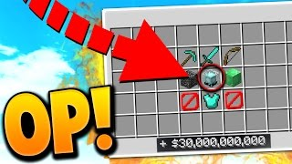 OVERPOWERED $30,000,000,000 ITEM SOLD! | Minecraft PRISONS #2 (OP Server)