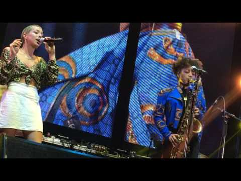 Spinning Into You - Nubya Garcia Band featuring Poppy Ajudha (Live)