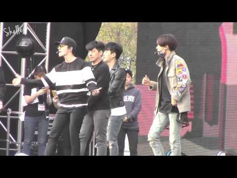 2015-10-04 Super Junior D&E 강남한류페스티벌 Don't wake me up & 1+1=Love Rehearsal