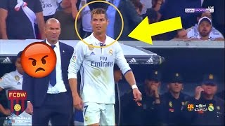 When Cristiano Ronaldo Gets Angry | Fights & Angry Moments 2017