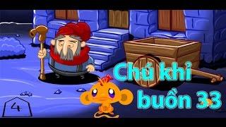 Game Chú Khỉ Buồn 33 - Video Hướng Dẫn Chơi Game 24h