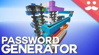 Minecraft: The Secure Website Password Generator!