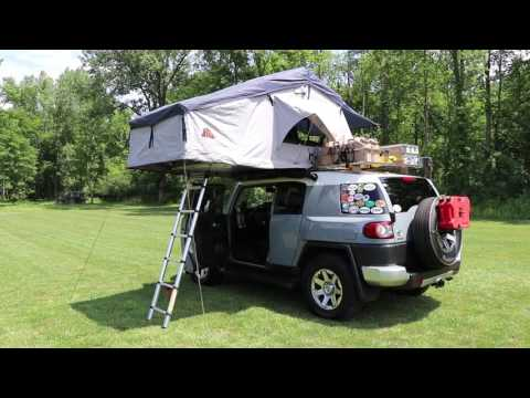 The Pros and Cons of a Roof Top Tent & Hannibal Impi Roof top tent Demonstration Musica Movil ...