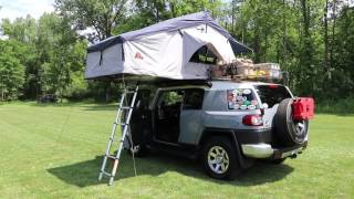 The Pros and Cons of a Roof Top Tent