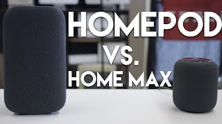 Apple HomePod vs Google Home Max