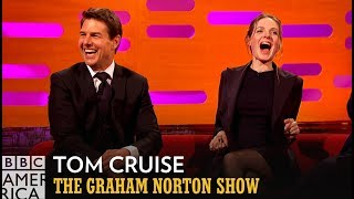 Tom Cruise Has A Very Tom Cruise Answer About His First Paycheck - The Graham Norton Show