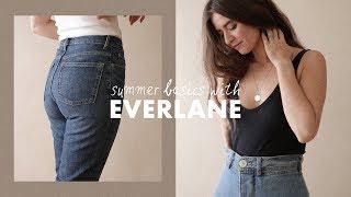 Everyday Summer Basics With Everlane | Dearly Bethany