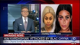 Breaking News :  Kim Kardashian - Blac Chyna Arrested