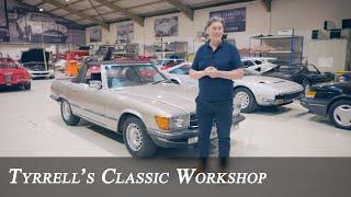 Mercedes-Benz W107 500 SL - A winning package | Tyrrell's Classic Workshop