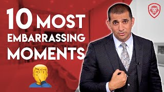 10 Most Embarrassing Moments as an Entrepreneur