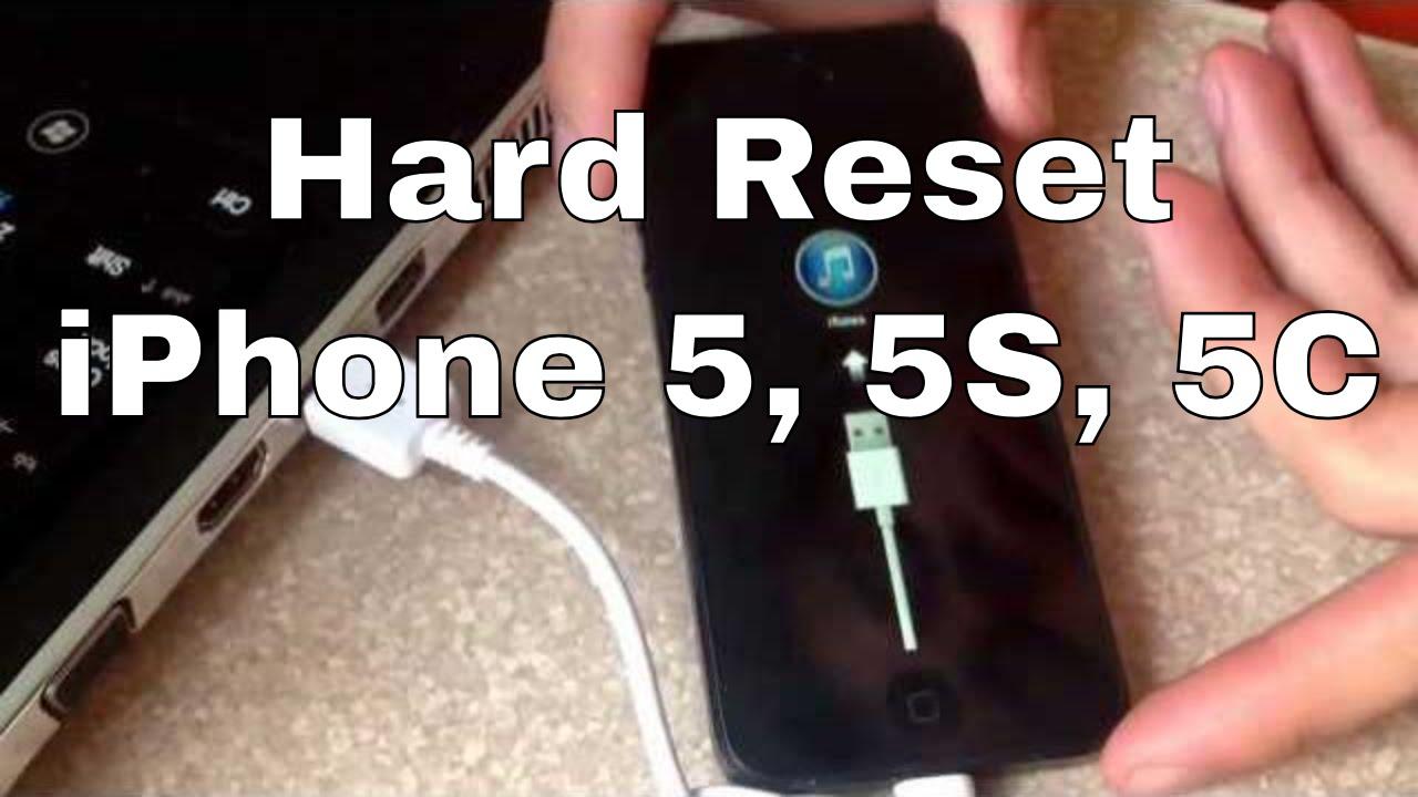 Iphone 5s Hard Reset