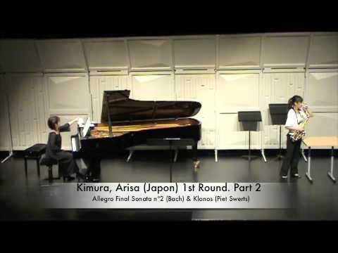 Kimura, Arisa (Japon) 1st Round. Part 2