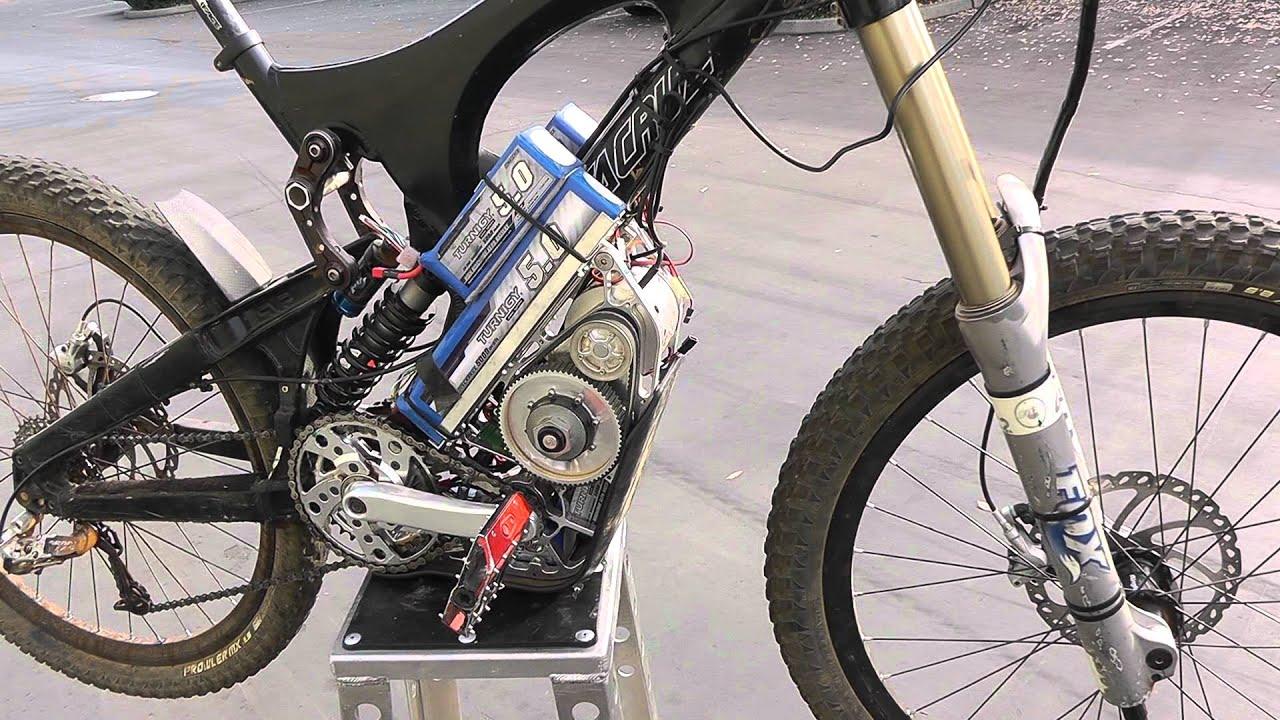 electric downhill bike part1 youtube