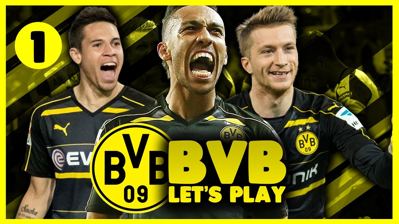 Borussia Dortmund Career Mode | New Beginnings | Football Manager 2017 Let's Play #1