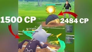 Triple GHOST Team ( feat. Alolan Marowak) VS Ultra League in Pokemon Go Battle League