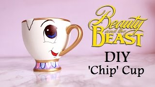 DIY 'Chip' Cup | BEAUTY AND THE BEAST
