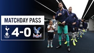 MATCHDAY PASS | TUNNEL CAM | SPURS 4-0 CRYSTAL PALACE