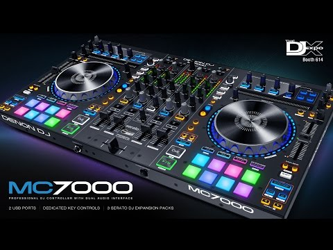 Denon DJ MC7000 Professional DJ Controller & Mixer with Dual Audio Interfaces