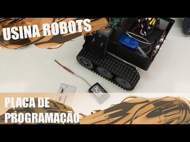 PLACA DE PROGRAMAÇÃO | Usina Robots US-2 #100