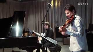 Matt Herskowitz Trio with Philippe Quint Play Prelude to Bach's Cello Suite No. 1, BWV 1007
