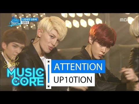 [Comeback Stage] UP10TION - ATTENTION ,업텐션 - 나한테만 집중해 Show Music core 20160416