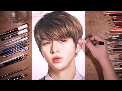 워너원 Wanna One: 강다니엘 Kang Daniel | drawholic