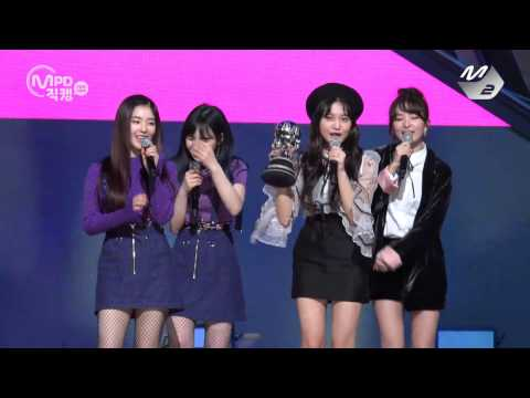 [MPD직캠 4K] 레드벨벳 1위 앵콜 직캠 Red Velvet Rookie Fancam No.1 Encore full ver. MNET MCOUNTDOWN 170209