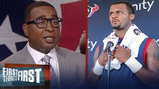 Cris Carter discusses if Deshaun Watson is underrated in the league   NFL   FIRST THINGS FIRST