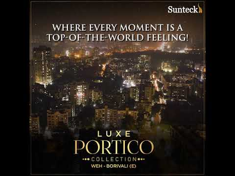 An awe-inspiring vistas of city's spectacular night life - Luxe Portico Collection