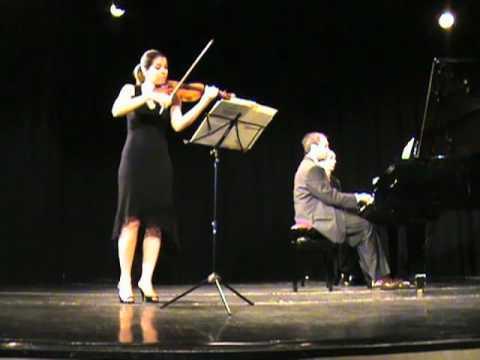 L.Gianneo - 5 Piezas para Violin y Piano -  Dúo Roca Wiman (Violin, Piano)