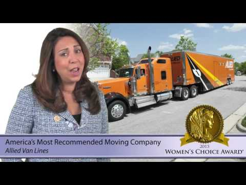 Allied Van Line - 2016 Consumer Video from the Womens's Choice Award