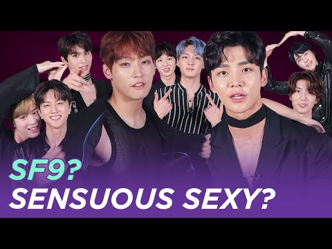 SSS! Sensuous Sexy SF9?! | SF9 IN 10 SEC ENG SUB • dingo kdrama