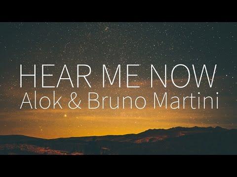Alok, Bruno Martini feat. Zeeba   Hear Me Now [Lyrics]