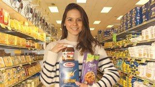 Inside an Italian supermarket