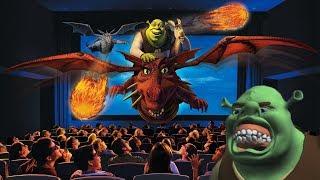 Yesterworld: The Strange History of Shrek 4-D at Universal Studios - How 'Shrek' Saved DreamWorks