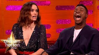 Daisy Ridley Couldn't Handle It When She Got the Star Wars Part | The Graham Norton Show
