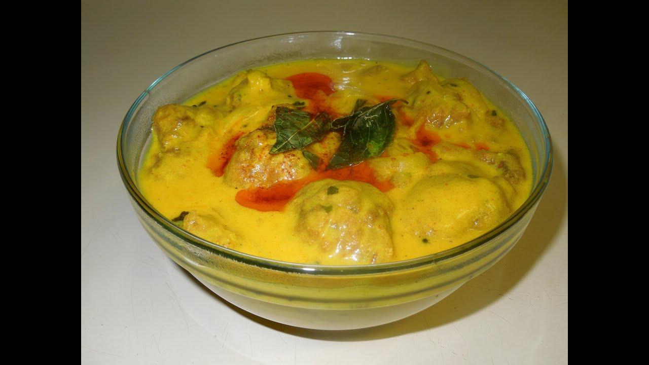 punjabi kadhi pakoda dahi ki kadhi yogurt curry indian