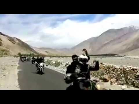 Nubra To Pangong- Biggest Group Of Bikers To Go On Road Trip To Ladakh