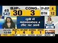 Results 2019: पहला रुझान आया सामने, 30 सीटों से BJP आगे, 4 सीट कांग्रेस को, 4 SP-BSP, 12 अन्य  - 01:31 min - News - Video
