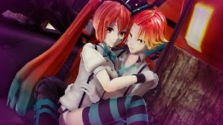 【MMD PV】Happy Halloween - Hatsune Miku ・Kagamine Len 【初音ミク・鏡音レン】  (English / Romaji Sub)