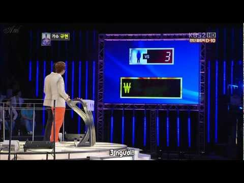 [Vietsub] 120717 1 vs 100 - Kyuhyun cut