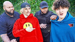Justin Bieber Confronts FaZe Jarvis In Person